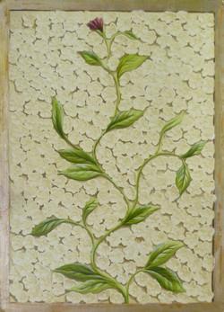 Panel Stone flowers