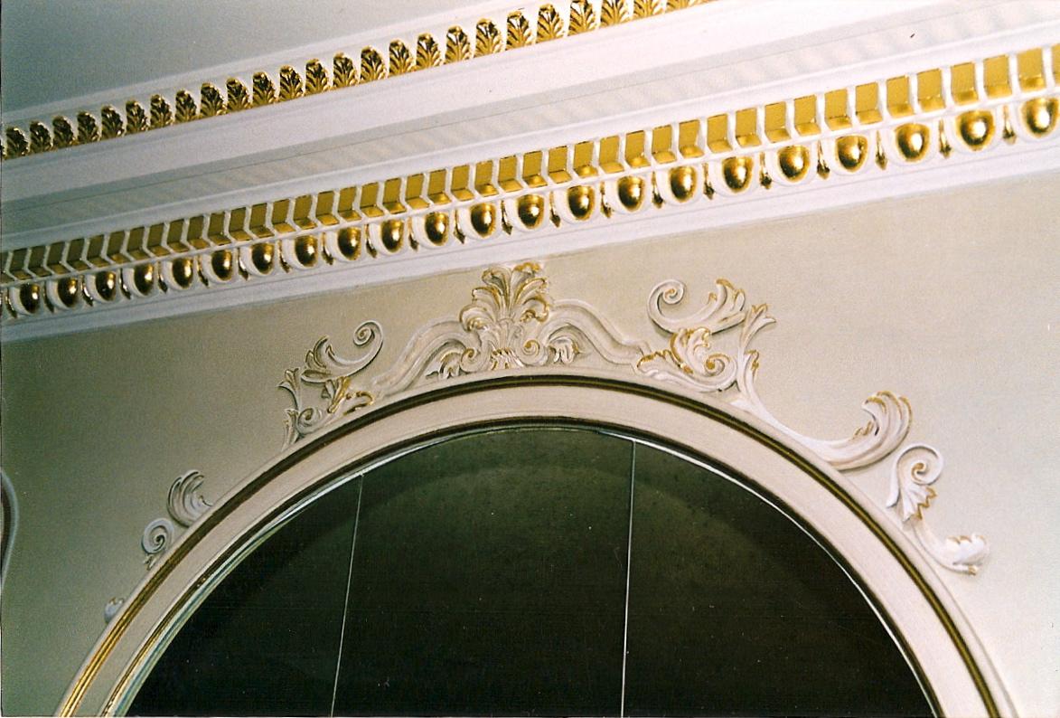Architectural Gilding cornice