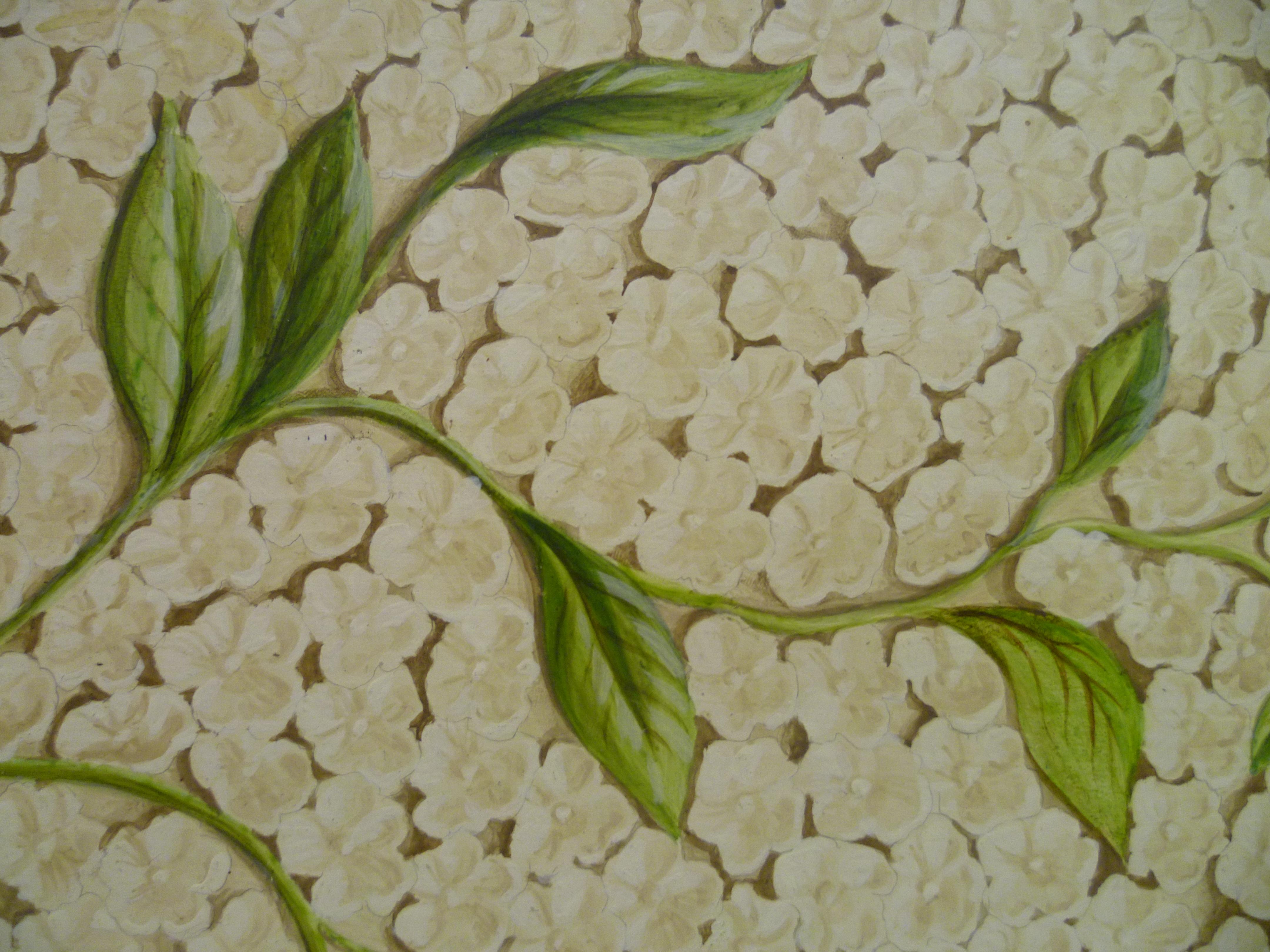 Stone Flowers detail