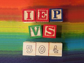 Difference Between a 504 and IEP