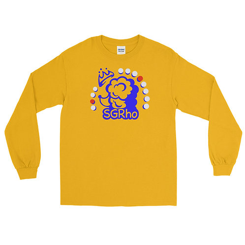 SGRho Crown Poodle Gold Long Sleeve Shirt
