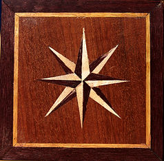 Example of marquetry that you can learn in this course at The Little Studio, NYC