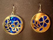 Multimedia Jewelry, earrings, created un