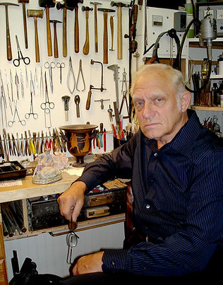Vladimir Deming, the instructor in The Little Studio