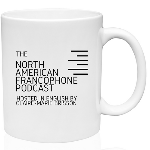 The North American Francophone Podcast Mug