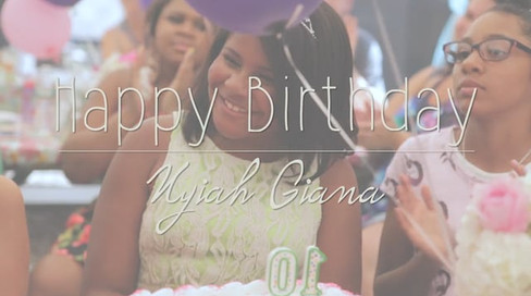 Nyiah Giana's 10th Birthday Micro-Vid