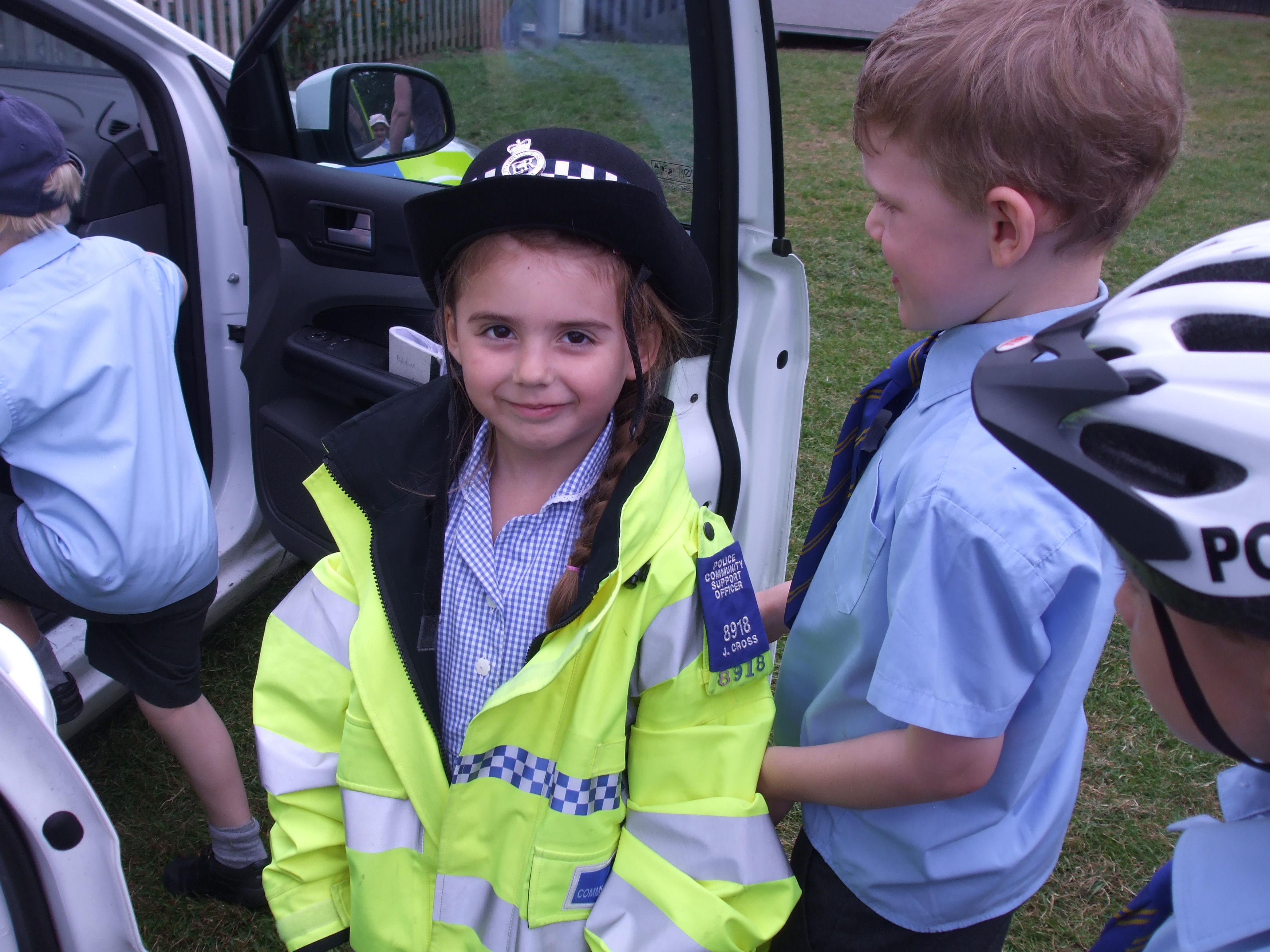 Reception class photos jubilee party and police car visit 017.jpg