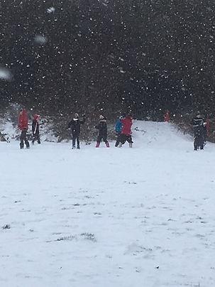 Snow Field Fun March 1st 2018