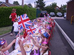 Reception class photos jubilee party and police car visit 033.jpg