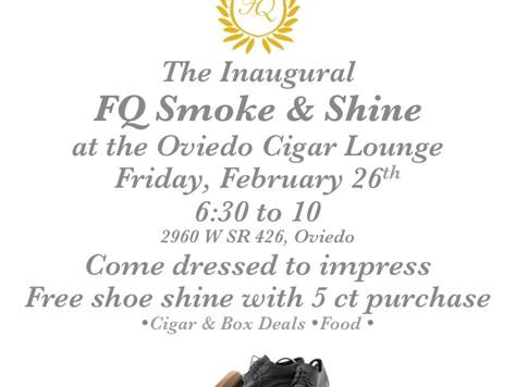Inaugural FQ Smoke & Shine
