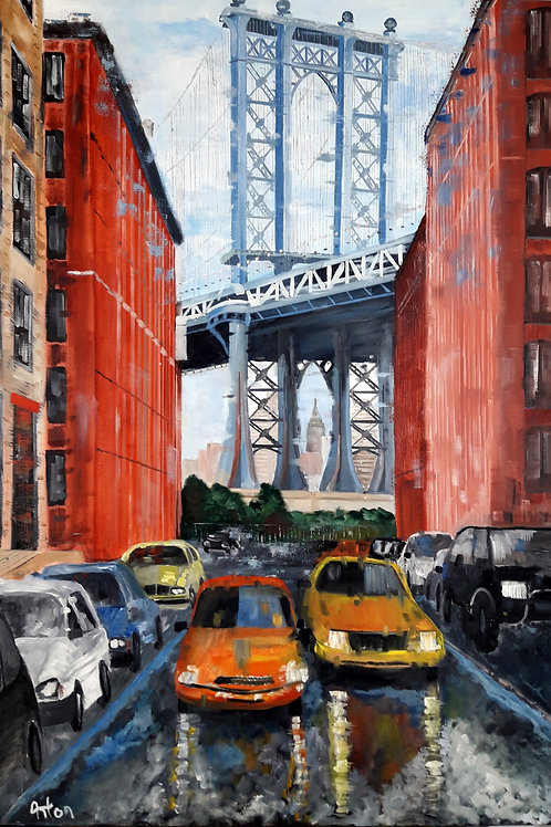 NEW YORK Pont de Manhattan