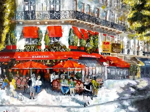 Paris - Brasserie du Champ de Mars