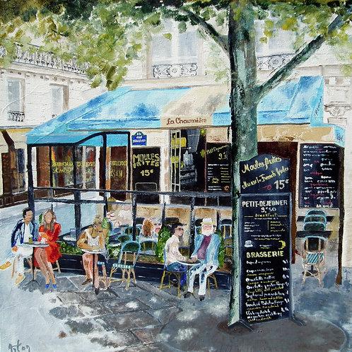 Paris - Restaurant Brasserie  La Chaumiere