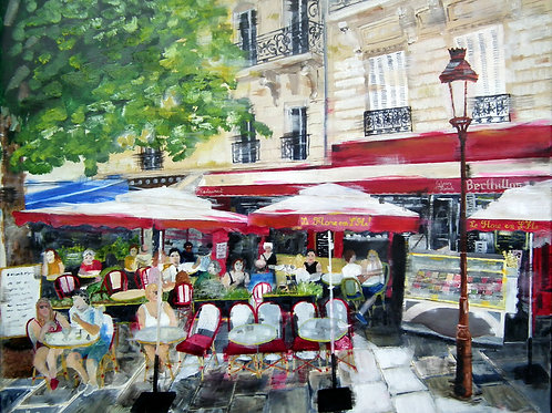 Paris - Brasserie Le Flore en l'ile