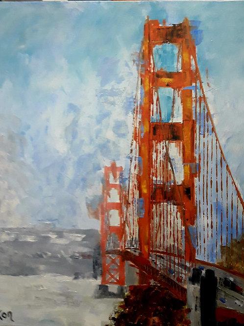 SAN FRANCISCO Le Golden Bridge