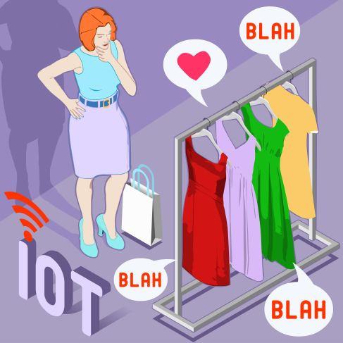 User is Hero by IoT supported shopping experience