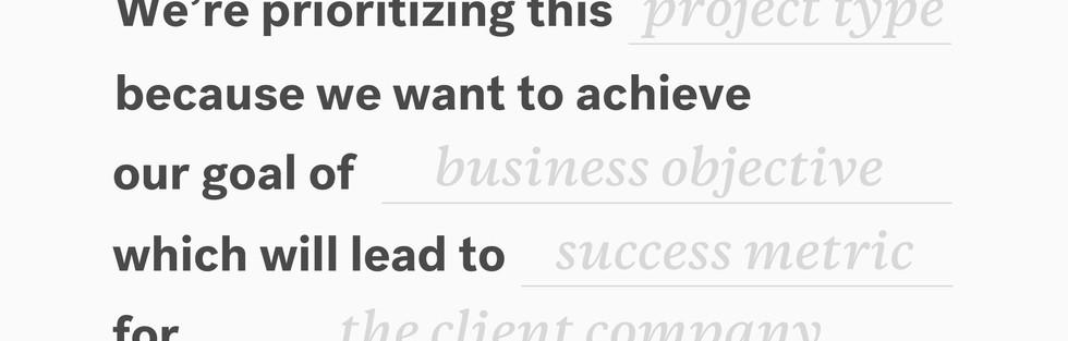 Business Client Challenge
