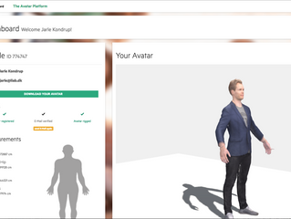 Online Avatar  for Personal Shopping