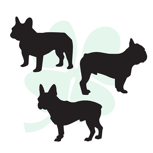 French Bulldog Vinyl Stickers