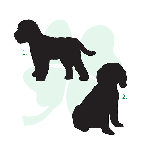 Cockapoo Vinyl Stickers