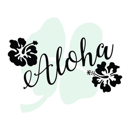 Aloha Vinyl Sticker