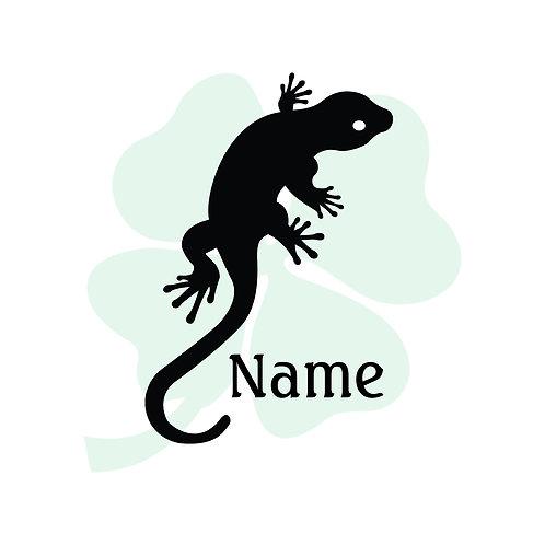 Gecko Vinyl Sticker