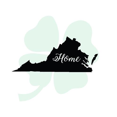 Home State Vinyl Sticker