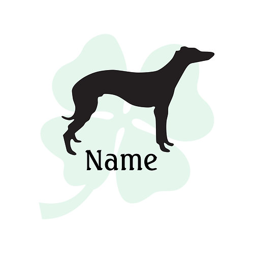 Italian Greyhound Vinyl Sticker