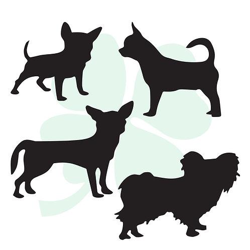 Chihuahua Vinyl Stickers