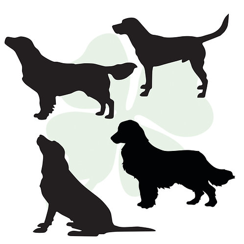 Retriever Vinyl Stickers