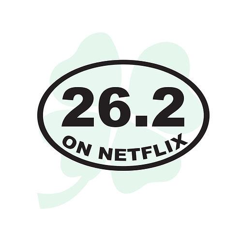 Netflix Marathon Vinyl Sticker