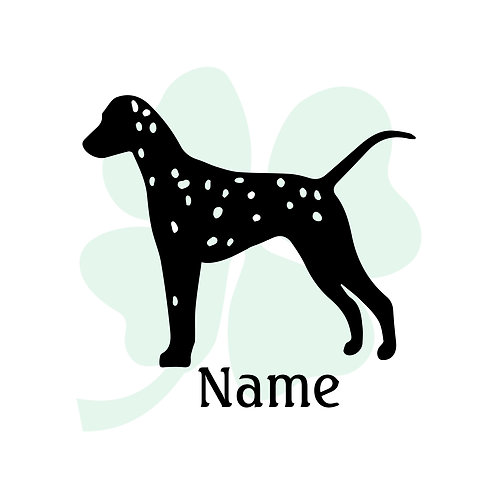 Dalmatian Vinyl Sticker