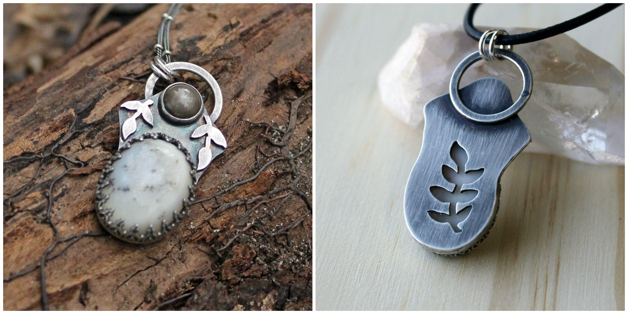 grey sapphire, dendritic agate