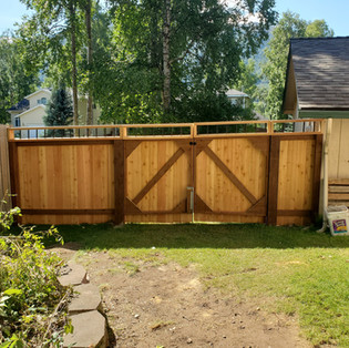 Back of Cedar Fence with Gate.jpg