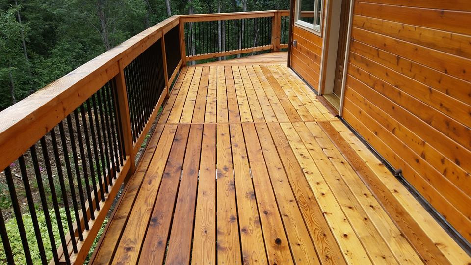 Custom Deck & Siding