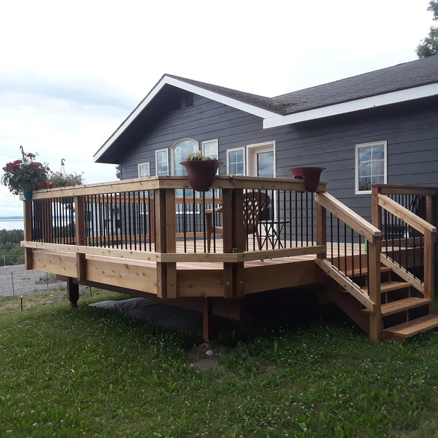 Back Deck & Door Install