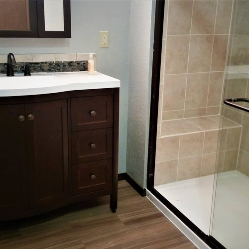 Complete Bathroom Remodel.