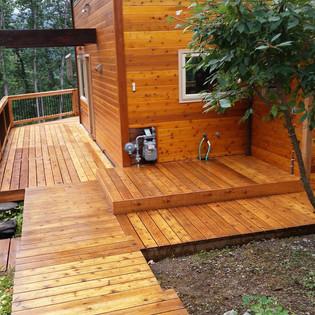 Walk around Deck,Siding,Doors & Windows