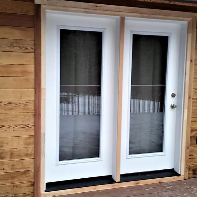 New Patio Door.