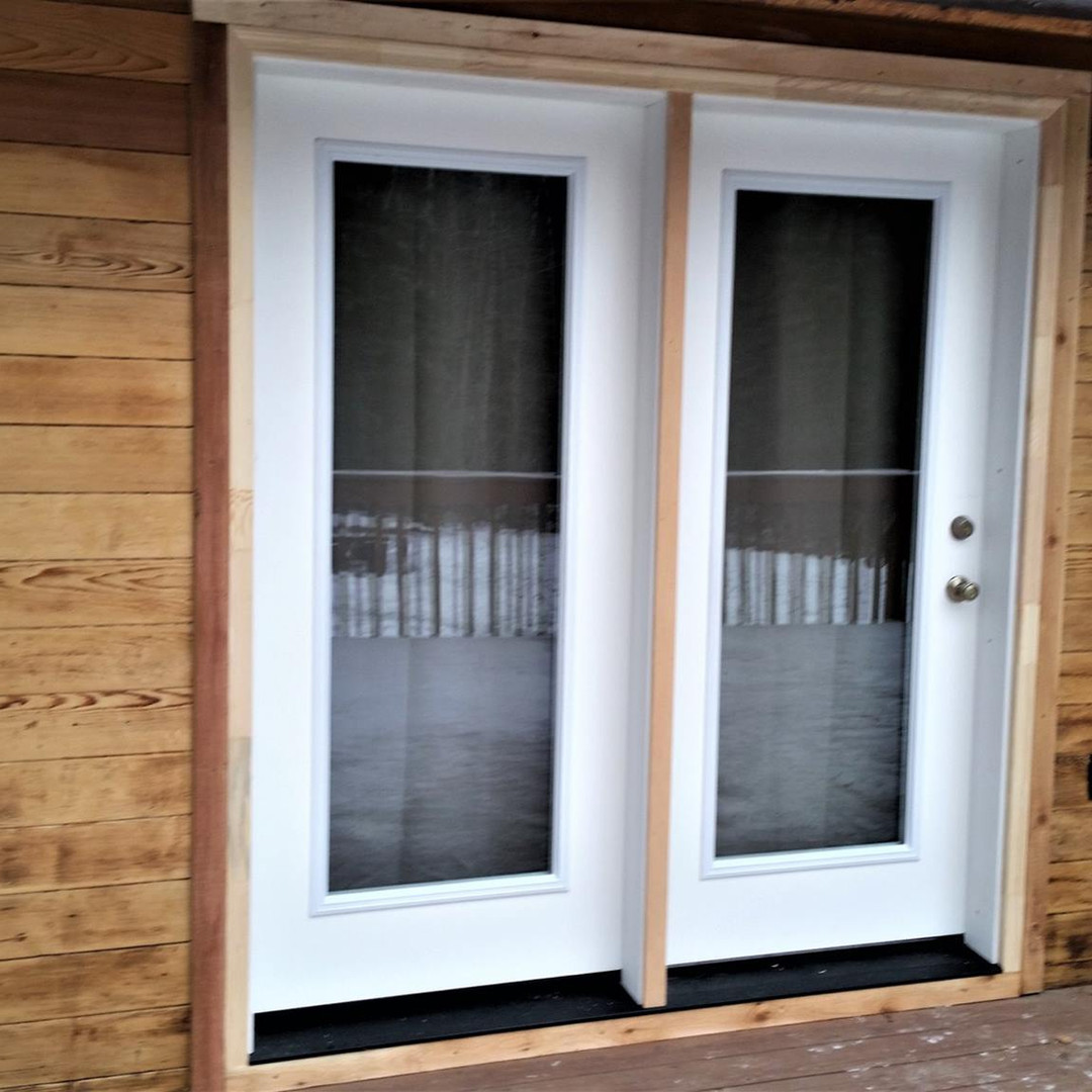 New Patio Door