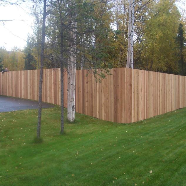 Cedar Fence.