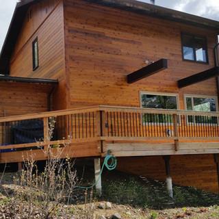Siding, Deck, Doors & Windows.