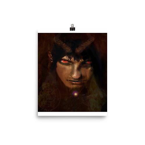 Asmodeus - Photo paper poster