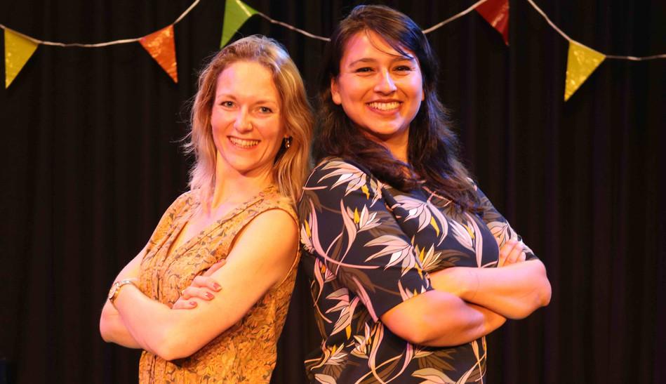 Suzanne Klein en Charo Durán
