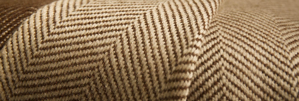 HYGGE Reversible Cashmere Blanket- Choco Brown