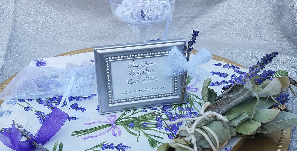 Inquire about Wedding Favor Package via email