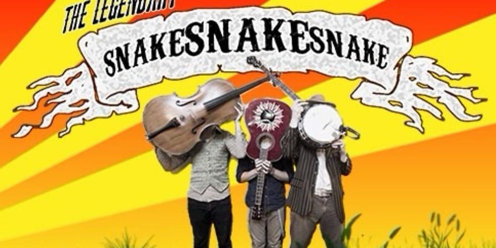 CANCELLED - Easter Sunday - The Legendary Snake Snake Snake