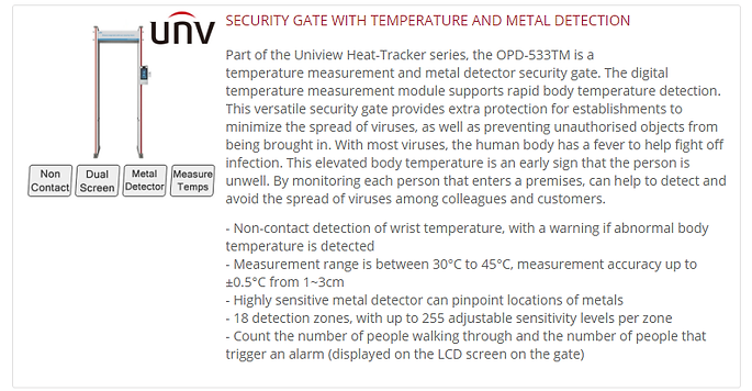 UNV Thermal Security Gate.png