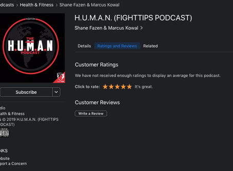 H.U.M.AN. - The podcast, now on iTunes!