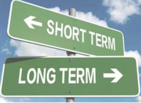 Long Term Goals vs Short Term Goals